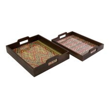 Zyanya Trays (Set of 2)