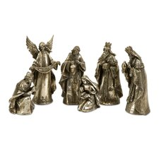 Silver Glory Nativity (Set of 6)