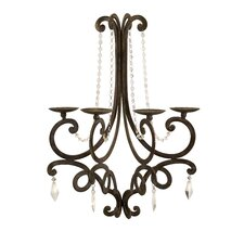 <strong>IMAX</strong> Harmony Chandelier Iron Wall Sconce