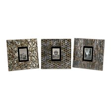 Jacobs Mother of Pearl Picture Frame (Set of 3)