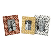 <strong>IMAX</strong> Peters Graphic Picture Frame (Set of 3)