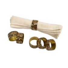 Omiska Napkin Rings (Set of 6)
