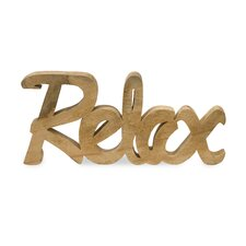 Relax Mango Wood Decor