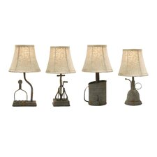 Mayberry Utensil Mini Table Lamp (Set of 4)