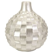 Helena Large Vase in Pearl