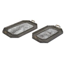 Victoria Vintage Tray (Set of 2)