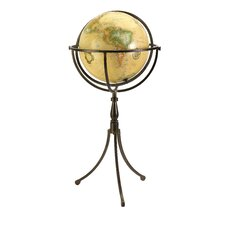 Vaughn Globe on Iron Stand