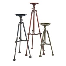 Sparks Iron Tripod Candlestick (Set of 3)