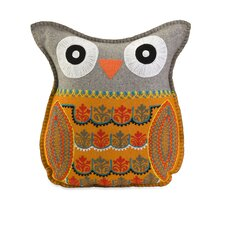<strong>IMAX</strong> Felt Cotton Owl Pillow