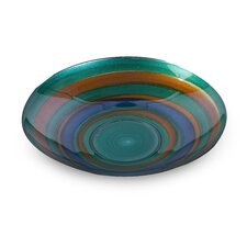Bold Splash Glass Bowl