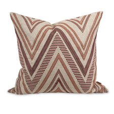 IK Kamaria Embroidered Linen Pillow
