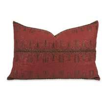 IK Arezo Beaded Embroidery Linen Pillow