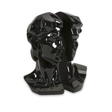 Black David Bookends (Set of 2)