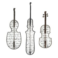 Jazz Mirror Wall Decor (Set of 3)