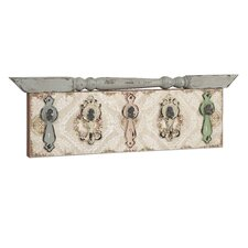 Davis Hardware Wall Plaque with Hooks