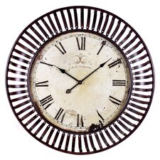 "Banded Oversized 35"" Wall Clock"