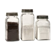 Dyer Glass Canisters (Set of 3)