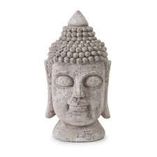 Large Peaceful Buddha Bust