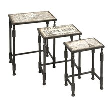 <strong>IMAX</strong> Knoxlin 3 Piece Nesting Tables