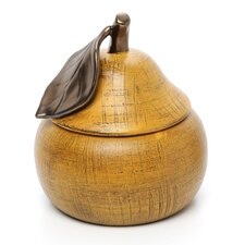 Small Bosc Pear Canister