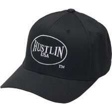 Clothing Fitted Baseball Hat in Black