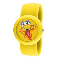Big Bird Slap Watch in Yellow