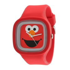 Elmo Jelly Watch in Red