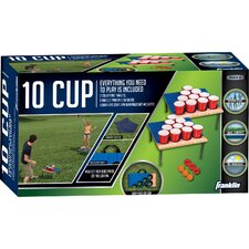 Fold-N-Go 18 Piece 10 Cup Target Set