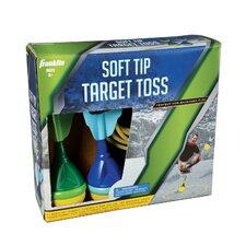6 Piece Soft Tip Target-Toss Set
