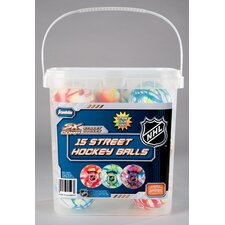 NHL Extreme Color High Density Street Hockey Ball