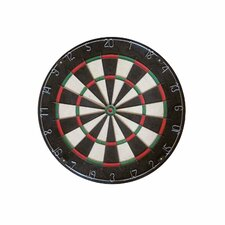 <strong>Franklin Sports</strong> Bristle Dartboard with Knife Edge Wire