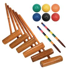 Expert 6 Player Combo Croquet Game Set