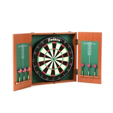 Bristle Dartboard with Cabinet