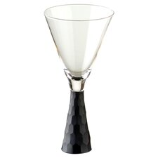 Artland Prescott Wine Glass in Black (Set of 2)