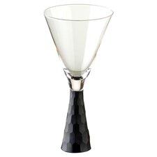 Artland Prescott Wine Glass in Black (Set of 2)