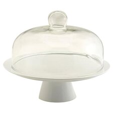Pedestal Cake Stand With Dome