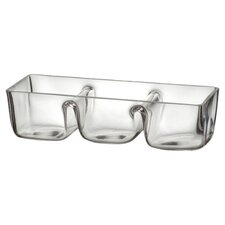 Artland Simplicity Boxed Three Section Dip Dish