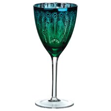 Artland Peacock Wine Glass (Set of 4)