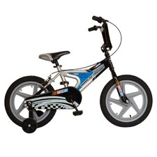 "<strong>Nascar</strong> Boy's 16"" Hammer Down Road Bike"