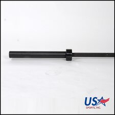 "<strong>USA Sports by Troy Barbell</strong> 86"" Olympic Bar in Black"