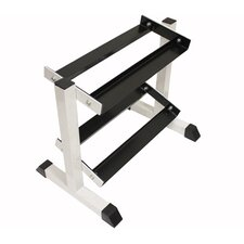 <strong>USA Sports by Troy Barbell</strong> 2-Tier Compact Dumbbell Rack