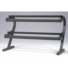 Deluxe 2 Tier Dumbbell Rack