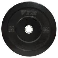 VTX 10 lbs Solid Rubber Bumper Plate