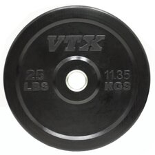 VTX 25 lbs Solid Rubber Bumper Plate