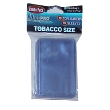 Tobacco Toploaders and Sleeves Combo (10 Packs)