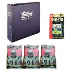 NFL 2007 Trading Card Gift Set - New Orleans Saints