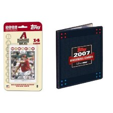 MLB 2008 Trading Card Set - Arizona Diamondbacks - Ultra Pro
