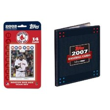 MLB 2008 Trading Card Set - Boston Red Sox