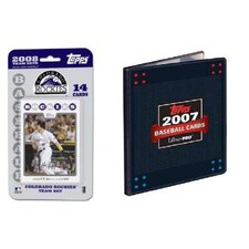 MLB 2008 Trading Card Set - Colorado Rockies