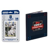 MLB 2008 Trading Card Set - Kansas City Royals